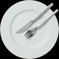 image of empty plate