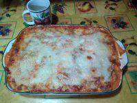 vegetarian zucchini  (courgette) lasagna casserole